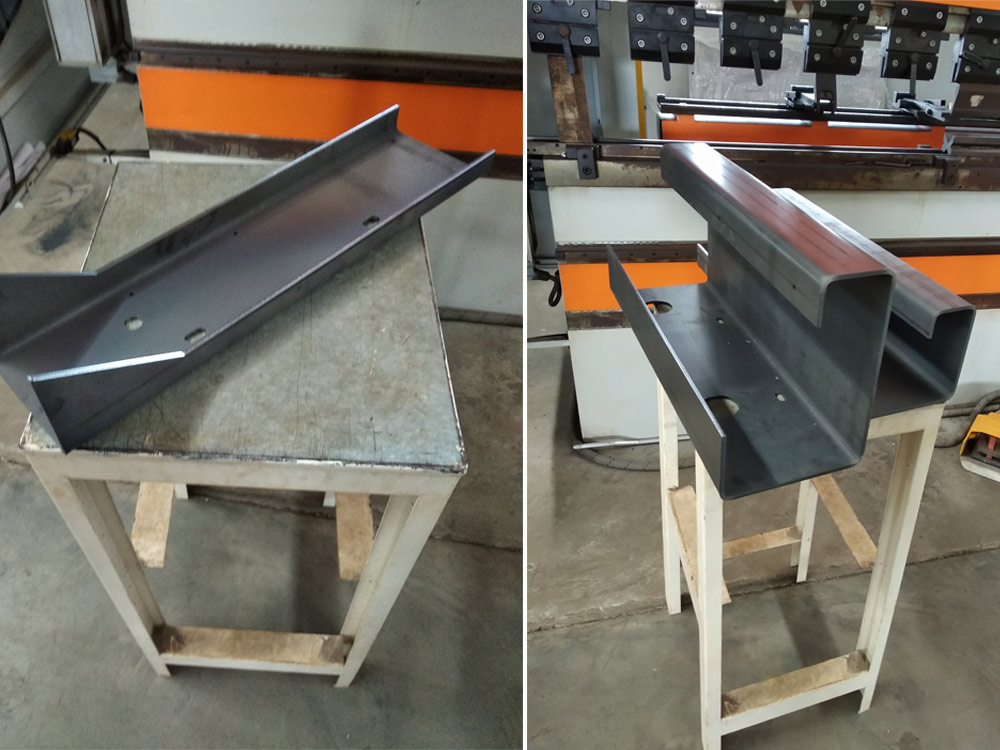 cnc bending job work