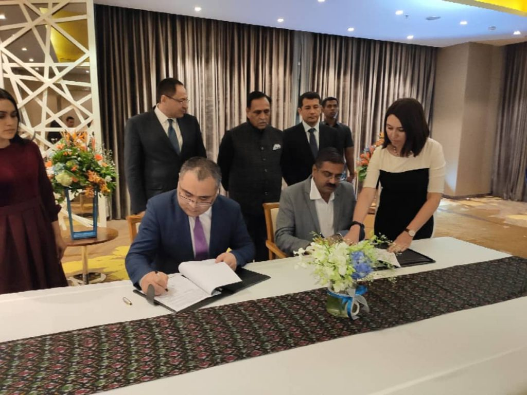 Uzbekistan Government Signed MOU With NSSPL