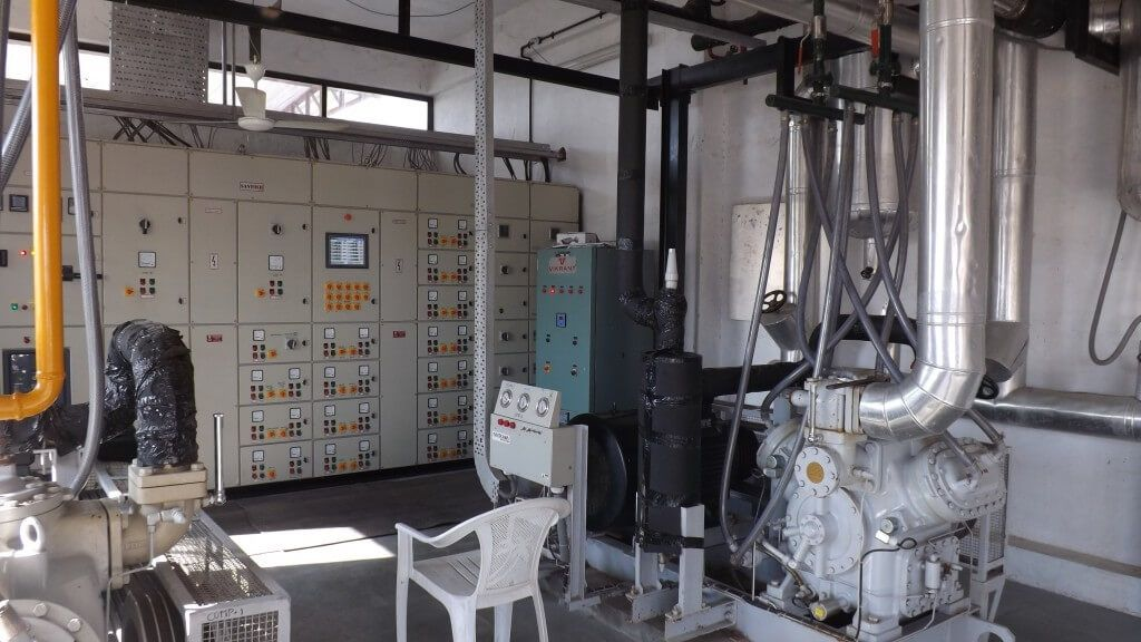 Temperature Controlled Cold Storage Machine Room