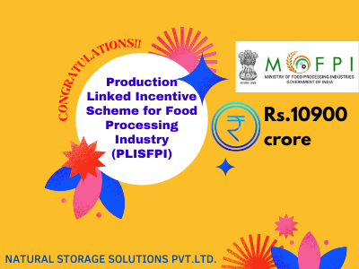 Production Linked Incentive Scheme for Food Processing Industry (PLISFPI